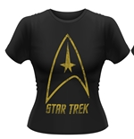 T-Shirt Star Trek Badge Logo