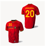 Trikot Belgien 2014-15 World Cup Home (Januzai 20)