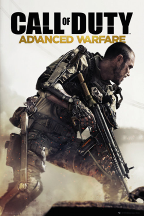 Poster Call Of Duty  Advanced Warfare Cover
