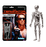 Terminator ReAction Actionfigur Chrome T-800 Endoskeleton 10 cm