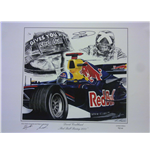 Kunstdruck Red Bull 125211