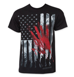 T-Shirt The Walking Dead Bloody Hand Print
