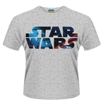 T-Shirt Star Wars Space Logo