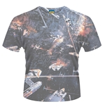 T-Shirt Star Wars Huge Space Battle