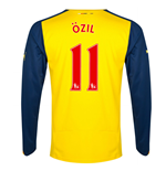 Trikot Arsenal 2014-15 Away (Ozil 11) für Kinder