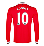 Trikot Manchester United 2014-15 Home (Rooney 10) - für Kinder