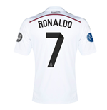 Trikot Real Madrid 2014-15 UCL Home (Ronaldo 7) - für Kinder