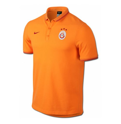 Polohemd Galatasaray 2014-2015 Nike Authentic League