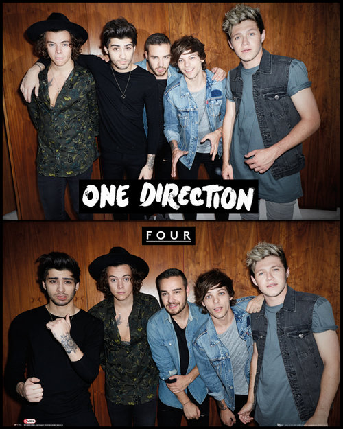 Poster One Direction Four
