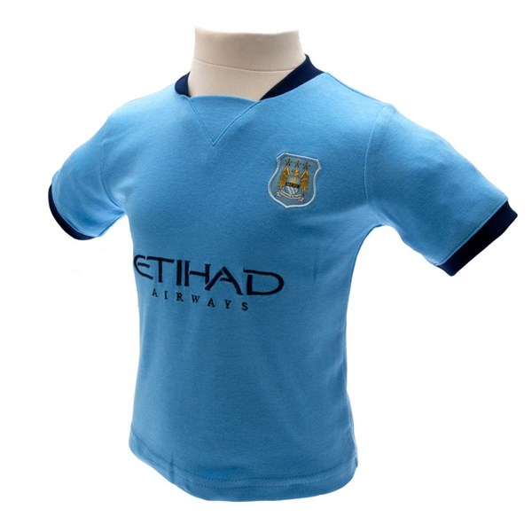 Manchester City F.C.T-Shirt & amp; Kurz Set 9/12 Monate