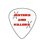"Fender ""Medium"" Guitar Pick - Jesters And Killers"