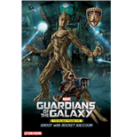 Guardians of the Galaxy Plastic Model Kit 1/9 Groot & Rocket Raccoon 20 cm