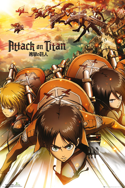 Poster Attack on Titan 128487