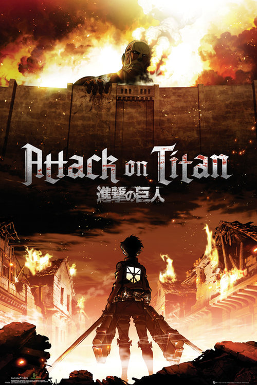 Maxi Poster Attack on Titan Key Art