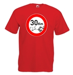 Transfer Printed T-shirt - 30KM