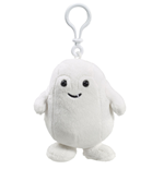 Doctor Who Clip-On Plüschfigur mit Sound Adipose 10 cm