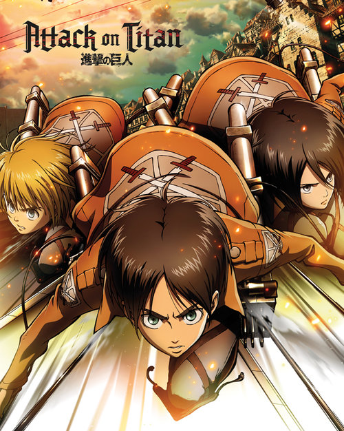 Poster Attack on Titan 129526