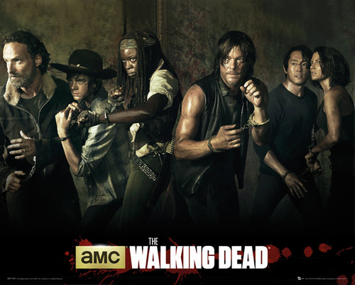 Poster  The Walking Dead 5 Saison