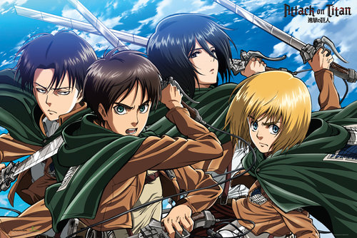 Poster Attack on Titan 129843