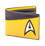 Star Trek Geldbeutel Bifold Command Logo Yellow