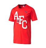 T-Shirt Arsenal 2014-2015 Puma Fan (Rot)