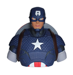 Marvel Comics Spardose Captain America 22 cm