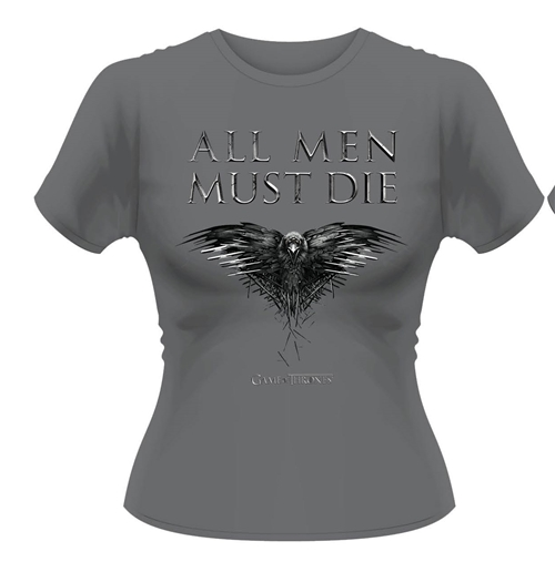 T-Shirt Game of Thrones All Metall Men Must Die