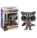 Guardians of the Galaxy POP! Vinyl Figur Rocket Raccoon 10 cm