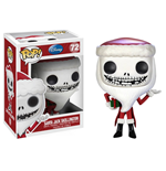 Nightmare Before Christmas POP! Vinyl Figur Santa Jack Skellington 10 cm