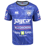 T-Shirt Bulldogs Canterbury Training 2015 Rugby (Blau)