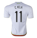 Trikot Mexiko Fussball 2015/16 Away (C. Vela 11)