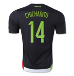 Trikot Mexiko Fussball 2015/16 Home (Chicharrito 14)