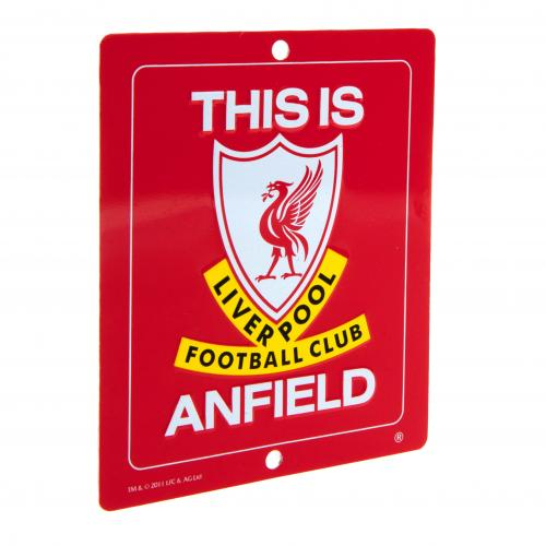 Schild Liverpool FC This is Anfield