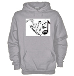 Hoodie with flex printing - RoadMuz
