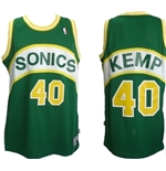 Top Seattle SuperSonics Hardwood Classic Shawn Kemp 40