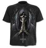 T-Shirt Death Prayer - in schwarz