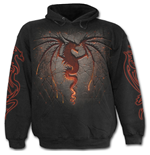 Sweatshirt Spiral Dragon Funace