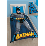 Batman Wende-Bettwäsche DC Shadow 135 x 200 cm / 48 x 74 cm