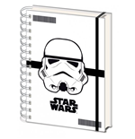 Star Wars Notizbuch A5 Stormtrooper
