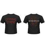 T-Shirt Cannibal Corpse 25 Years