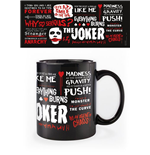 The Dark Knight Tasse Joker Quotographic