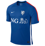 Trikot Holland Fussball 2015-2016 (Blau)