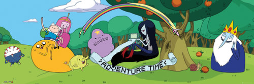 Poster Adventure Time 136951