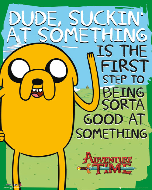 Poster Adventure Time Suckin