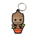 Guardians of the Galaxy Gummi-Schlüsselanhänger Baby Groot 6 cm