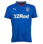 T-Shirt Rangers f.c. 2015-2016 Home