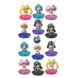 Sailor Moon Petit Chara Pretty Soldier Sammelfiguren 6 cm New Soldiers Glitter Ver. Sortiment (6)