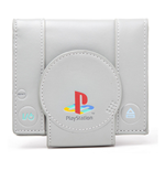 Geldbeutel PlayStation One in der Form einer Konsole in Grau