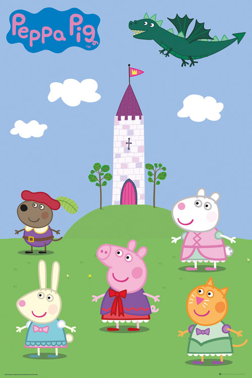 Poster Peppa Pig 137992
