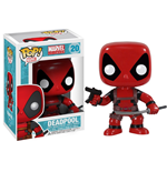 Marvel Comics POP! Vinyl Wackelkopf-Figur Deadpool 10 cm